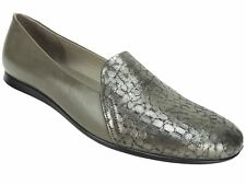 Ecco Women's Touch Ballerina 2.0 Flats Warm Grey Leather Size US 4-4.5/EU 35