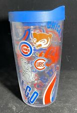 Tervis  16 oz. Chicago Cubs  Tumbler  Clear