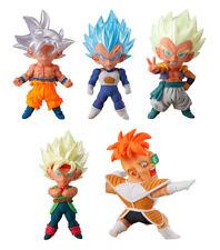 Bandai Dragon Ball Z Super UDM Burst 34 Anime Figure Goku SSGSS Vegeta set 5 pcs