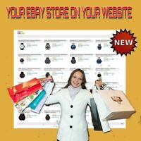 ⭐YOUR EBAY STORE ON YOUR SITE⭐ PHP Script - No monthly fees - Easy installation