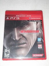 Playstation 3 PS3 Metal Gear Solid 4 Guns Of The Patriots