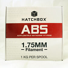 Hatchbox True White ABS 1.75 mm Filament 1 kg Spool 3D Printer Plastic +/- 0.05