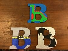 Children's painted 6 mm MDF letters B