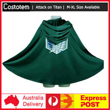 Attack on Titan Shingeki no Kyojin Scouting Legion Top Cosplay Grade Cloak Cape