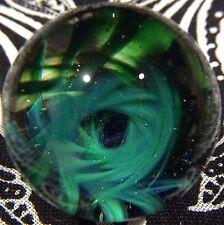 29 MM Cosmic Chaos Vortex Hand Made Contemporary Borosilicate Art Glass Marble