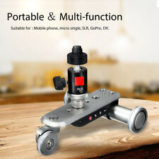Chargeable Electric Motorized Pulley Car Video Dolly Track Slider Rolling Camera