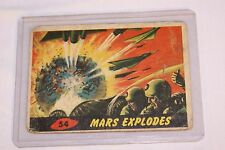 "1962 Mars Attacks ""Mars Explodes"" #54"