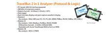 Tb1016E Acute TravelBus Protocol & Logic Analyzer