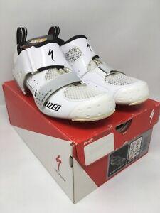 Specialized TRIVENT EXPERT Carbon Tri Shoes EU 40 US 7.5 MSRP $200
