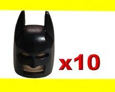 LEGO HEADGEAR MASK BATMAN TYPE 2 COWL HELMET 10X GENUINE SUPERHERO MINIFIGURE