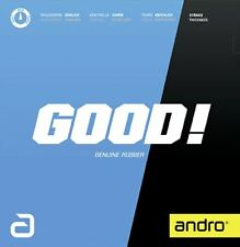 TABLE TENNIS RUBBER: Andro Good