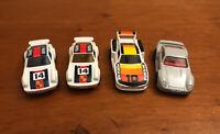 Vintage Matchbox Porsche Car Lot Of 4 Boss Porsche Turbo 959 935