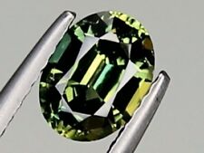 Best Blue Green Yellow Sapphire VS 7.5x5.5mm Oval 1.39ct Loose Natural Gemstone