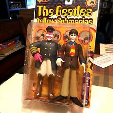 McFarlane Beatles Yellow Submarine  Paul with Captain Fred vintage action figure