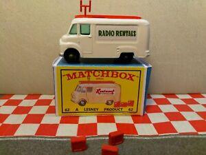 Matchbox Lesney No62 TV Service Van in REPRO box