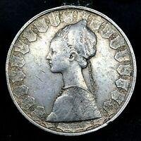 Italy 500 Lire 1960 R ~ Silver- KM#98 Columbus Ship Coin. #2