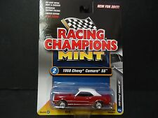RACING CHAMPIONS CHEVROLET CAMARO SS 1968 rouge rc004b 1/64
