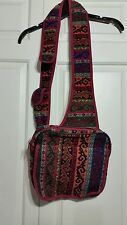 Beautiful HH Han Turkish Kilim Woven Wool Cross Shoulder Bag