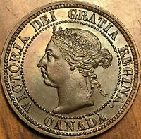 1891 CANADA LARGE CENT PENNY - LDLL Obverse #3 - Fantastic example! Really nice!