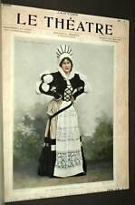 la Revue LE THEATRE Premiere année premier semestre 1898, par GOUPIL