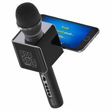 Tzumi Pop Solo Bluetooth Karaoke Microphone 2rose Gold 2 Black