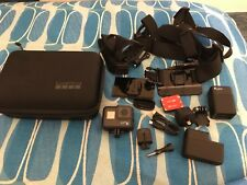 GoPro HERO6 Black 4K Action Video Camera TouchScreen 12 MP CHDHX-601 plus Extras