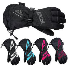 FXR Womens Fusion Glove Waterproof Fleece Lining Durable Nylon Shell Snowmobile