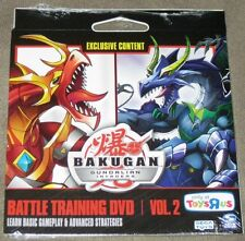 Bakugan Gundalian Invaders Battle Training DVD Vol. 2 - New & Sealed