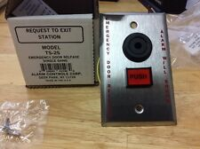 Alarm Control Corp. TS-25, Request-to-Exit Emergency Door Release Button
