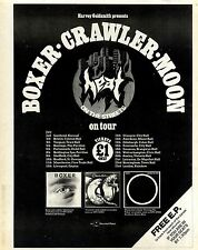 18/6/1977Pg17 FRAMED Advert 15x10 Heat On The Streets, Boxer Crawler M