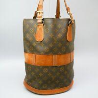 LOUIS VUITTON BUCKET GM USA Limited Tote Bag Shoulder Bag Monogram Brown