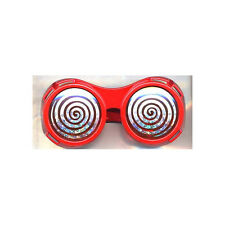 Red Round X-Ray Vision Glasses X Ray Specs Goggles Hypnotize Wonka Adult