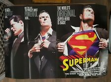 """Superman Forever Promo Poster by Alex Ross, DC Comics, 1998, 36""""x24"""""""