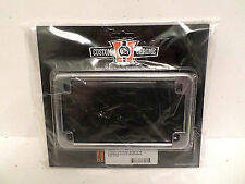 Custom Chrome 15954 Harley Davidson Motorcycle License Plate Frame Holder NEW