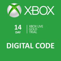 14 day Xbox One 360 Live Gold Trial Membership Digital Codes Fast Email Delivery