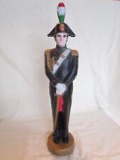 "Vintage Liquore Galliano Soldier Statue 16"""