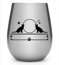 Moon stars cat Yeti Decal, Tumbler Decal, LAPTOP STICKER TRUCK