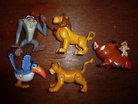bundle Disney The Lion King figure toy playset Pumbaa Rafiki Zazu Mufasa