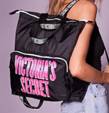 NWT Victoria's Secret Packable Backpack Weekender Tote Bag -- US bought