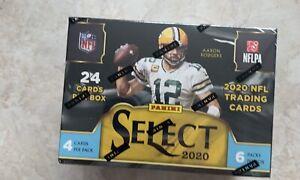 NEW IN BOX Panini Select 2020 NFL Football Blaster Box (24 Cards)