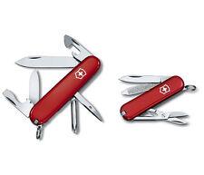 2 Red Victorinox Swiss Army Knives Tinker & Classic Victorinox, 57057, New
