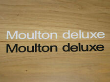 2 MOULTON Various Models Cycling Stickers Decals NEW Printed Bike Vintage Frame