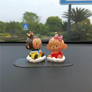 New Fashion Car Decoration Cute  Monkey Dolls Interior Accessories US Sell