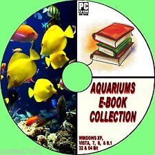 AQUARIUM BOOK COLLECTION 10 SUPERB TITLES ON CD-ROM TROPICAL MARINE FISH Etc NEW