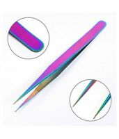 TIT Tweezers Set Professional Stainless Steel Eyebrow Hair Pluckers