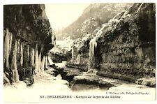 CPA 01 Ain Bellegarde Gorges de la Perte du Rhône