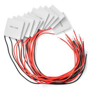TEC1-12706 Thermoelectric Peltier Cooler Cooling Heatsink Module 12 Volt 60 Watt