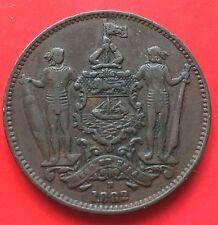 British North Borneo One Cent 1882H