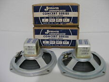 "Vintage Jensen P 5-V MATCHED Concert Series Speakers 5"" 3.2 Ohms DP- Alnico 5"