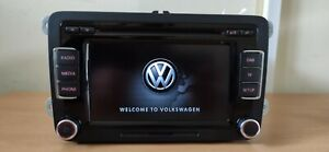 VW Polo Golf Passat Touran Tiguan Touch Screen  DAB Radio 6 Cd  3C8 035 195G